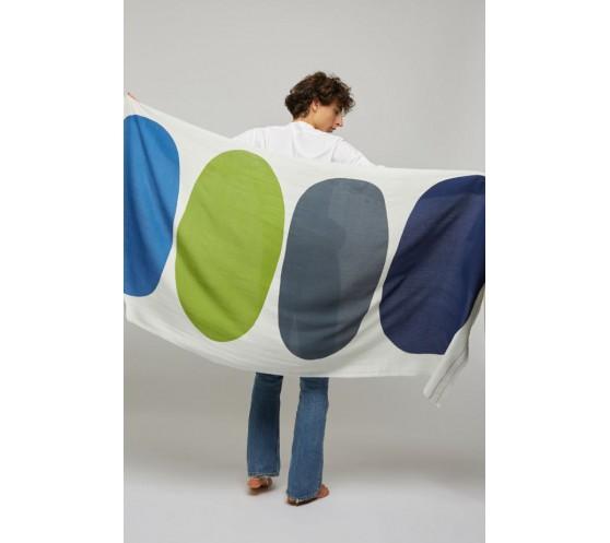 BEACH TOWEL DESIGN N° 1 ELECTRIC BLUE