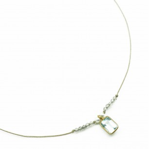 OULALA - COLLIER PIERRES...
