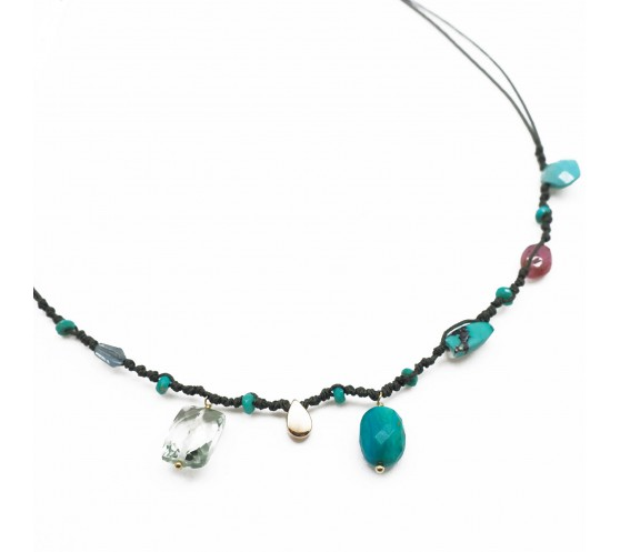 CALI MOOD - COLLIER MULTI CHARMS,...