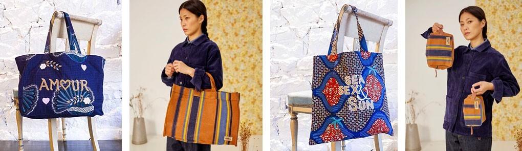 Sacs, pochettes et boîtes à bijoux de créateurs | By Johanne