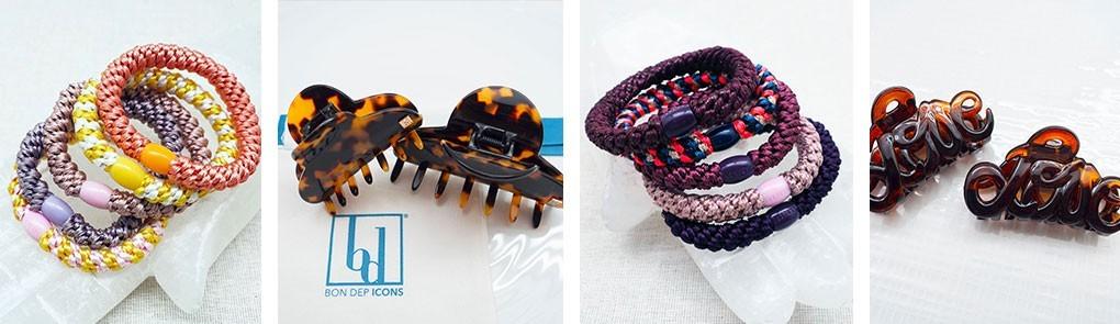 Accessoires cheveux femme : bandeau pour cheveux & barrette | By Johanne
