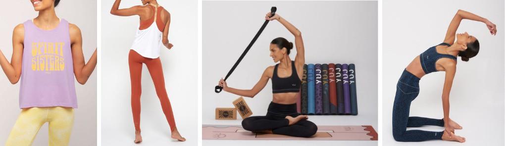 Vêtements et tapis de yoga pour femme | By Johanne